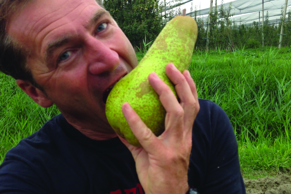 Lauro Simeoni agricoltore e consulente frutticolo