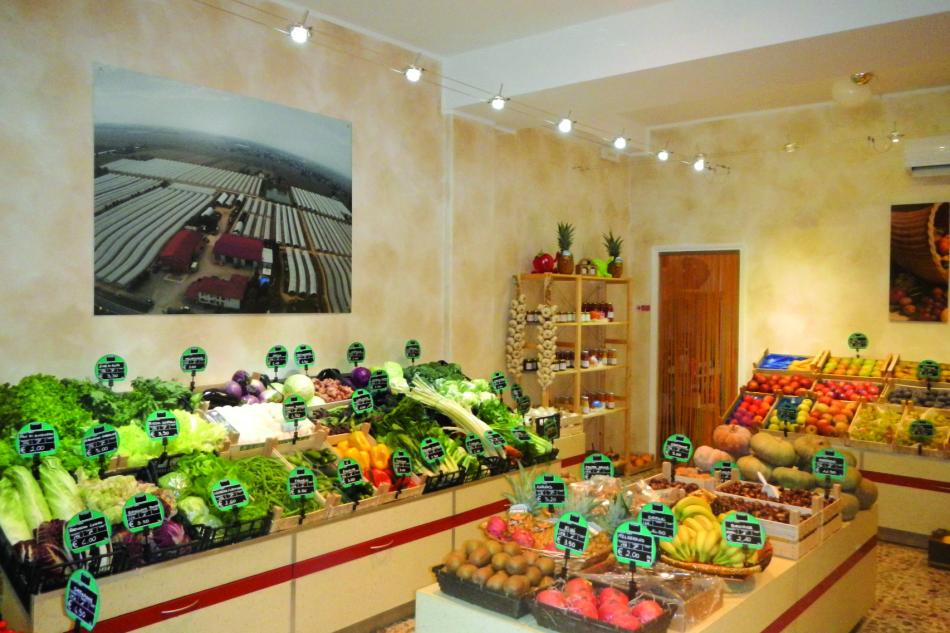 Fruttiamo - Uno dei punti vendita Malaguti.