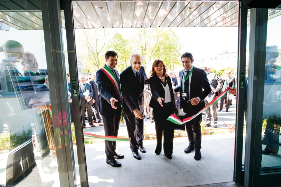 inaugurazione nuovo centro ricerche di novara