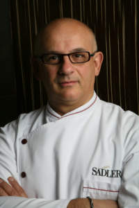 lo chef Claudio Sadler