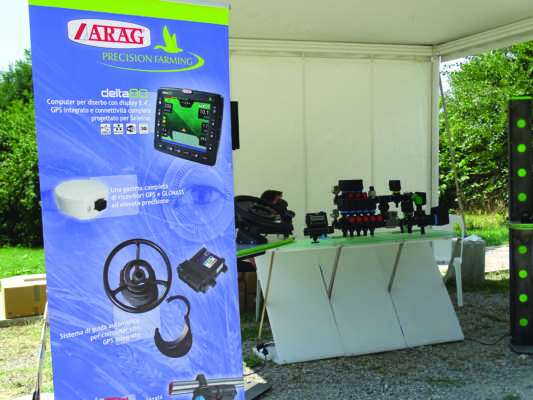 Accessori per precision Farming di Arag.