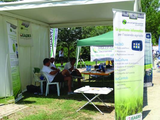 I software Isagri per la gestione delle aziende agricole.