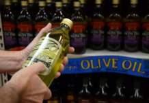etichettatura dell'olio di oliva