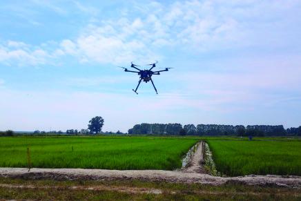 Crea, droni e satelliti per combattere l'inquinamento