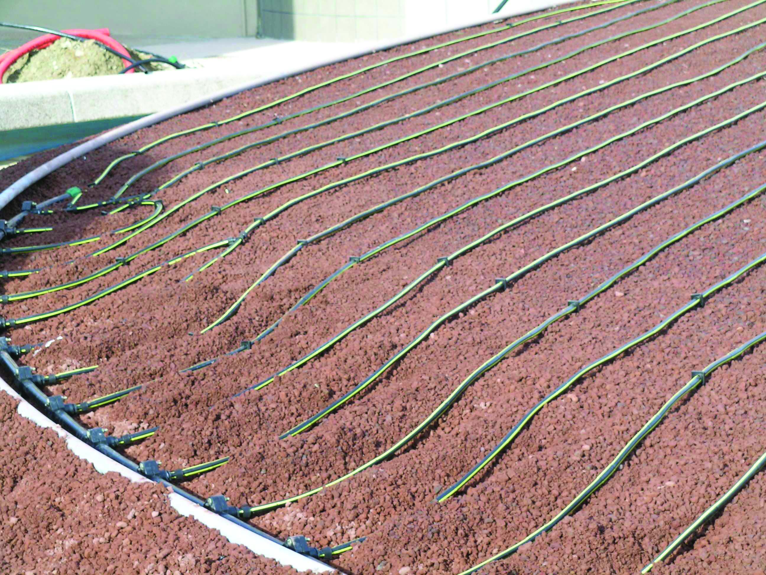 Sostenibilit a tutto campo con l 39 irrigazione a goccia for Materiale irrigazione