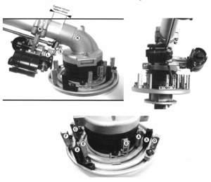 Fig. 6 - Rotorkit  slideway e con morsetti  a bordo piastra (Sime).