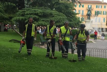 """Husqvarna Fleet Service e la partnership con la """"Silent City"""" Verona"""