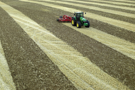 Agricoltura di precisione, verso il 10%