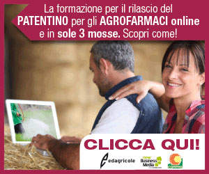 La formazione online per il rilascio del patentino degli agrofarmaci