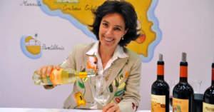 Josè Rallo, la produttrice alla guida della siciliana Donnafugata, l'azienda al vertice delle vendite online sulla piattaforma Tannico con una quota vicina al 10% degli acquisti