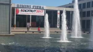 L'ingresso del Macfrut di Rimini edizione 2017