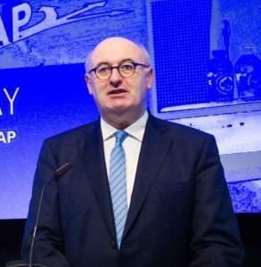 Phil Hogan, commissario agricolo della Ue