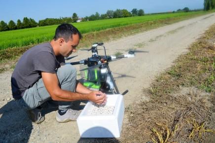Controllare le zanzare con l'impiego dei droni
