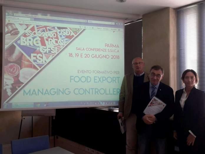 food export managing controller