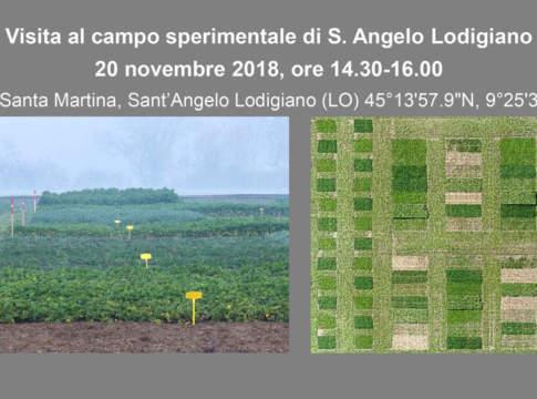 visita al campo sperimentale di S. Angelo Lodigiano