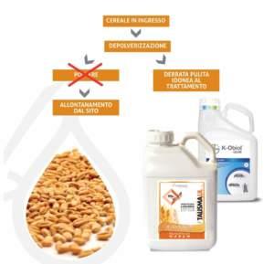 trattamenti per la difesa dei cereali di newpharm