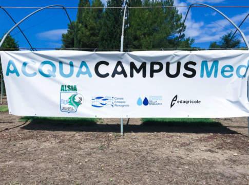 innovazione e irrigazione a acqua campus med 2019