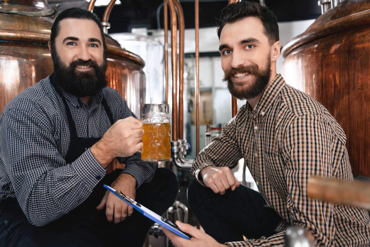 produzione di birra agricola