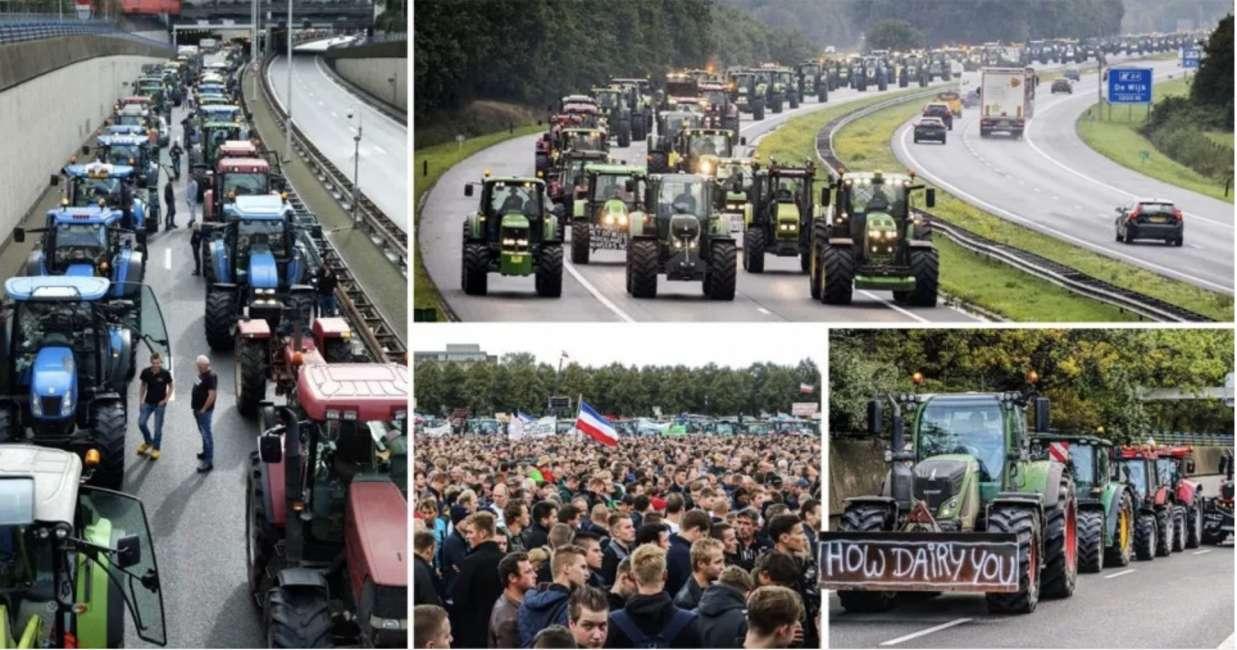 Vendita Case In Olanda olanda: protesta trattori, oltre 1.000 km di strade intasate