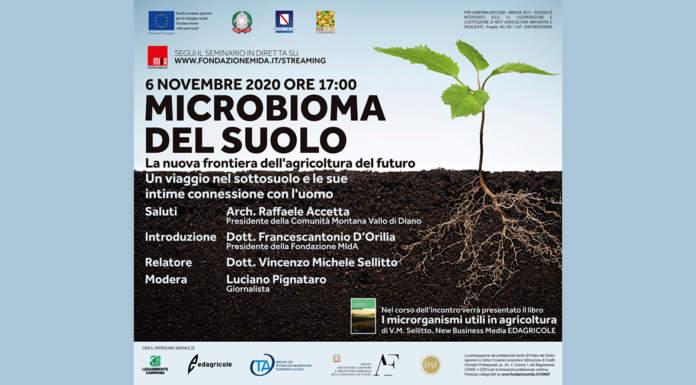Microbioma del suolo, incontro tecnico-scientifico il 6 novembre 2020