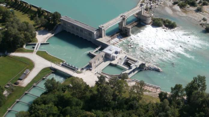 Opera di presa Fener sul fiume Piave - Consorzio di Bonifica Piave